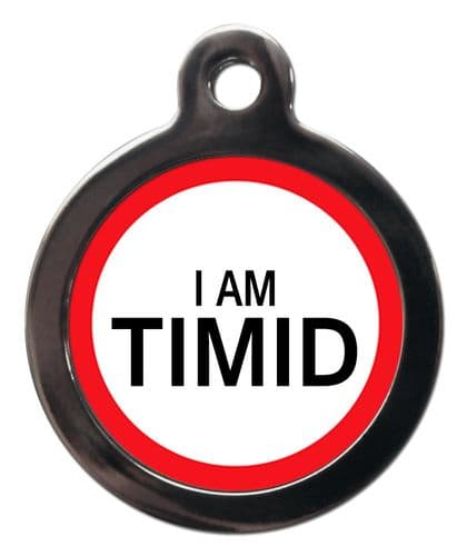 Medical Tags for Dogs - I AM TIMID
