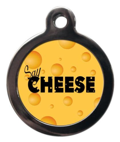 Pet ID Tag CHEESE