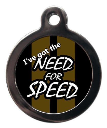 Pet ID Tag NEED FOR SPEED
