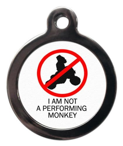 Pet ID Tag  NOT PERFORRMING MONKEY