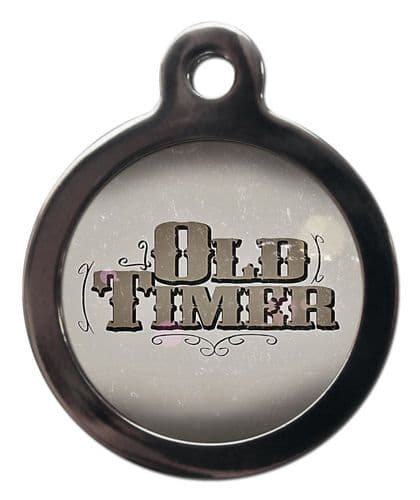 Pet ID Tag Old Timer