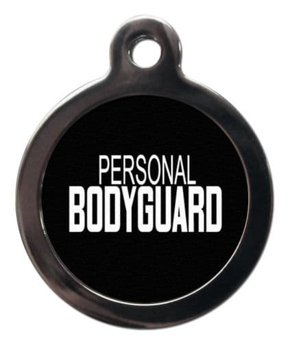 Pet ID Tag PERSONAL  BODYGUARD