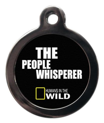 Pet ID Tag The people whisperer