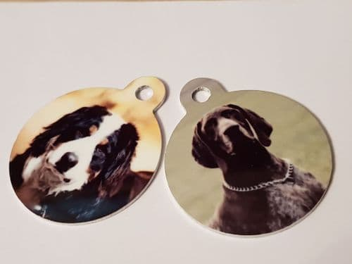 Picture ID Tags for Dogs