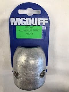 "Aluminium 1"" MG Duff Shaft Anode MGDA1 Salt and Brackish Water"