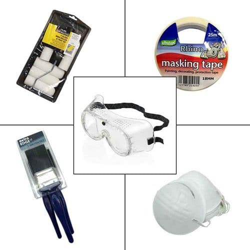 Antifouling Paint Bundle Application  and Safety Pack