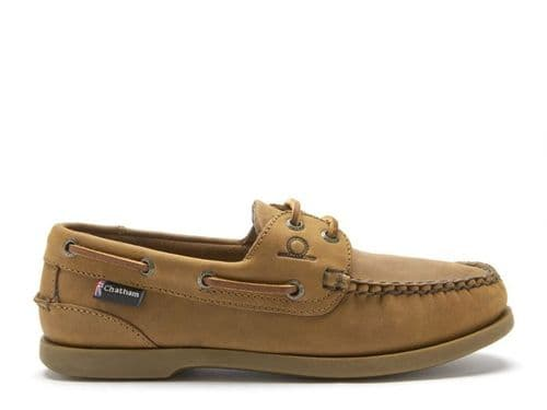 Chatham Ladies Deck G2 Shoe Walnut