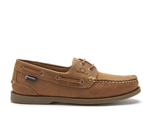 Chatham Mens Deck 11 Shoe G2 Walnut