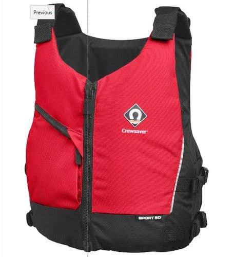 Crewsaver Sport Buoyancy Aid Red Multi Sport