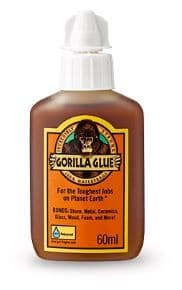 Gorilla Glue 60ml Bonds Stone Wood Metal Glass