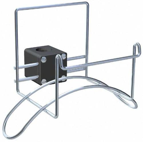 NAWA Lifebouy Holder Rail Mounted Horseshoe Buoy MOB 19504