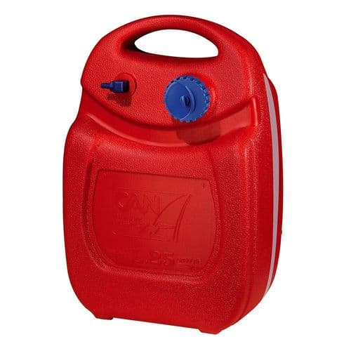 Outboard Engine Hulk Portable Fuel Tank 24Ltr with Gauge