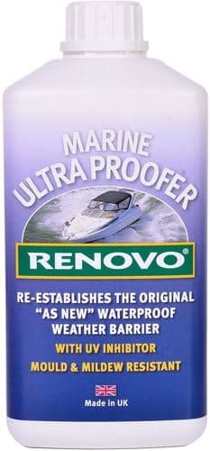 Renovo Marine Ultra Proofer 500ml Canvas Covers