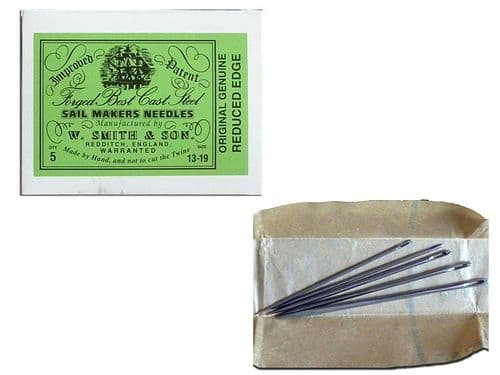 Sailmakers Needles Assorted Pack 5 Sail, Tents Covers Repairs