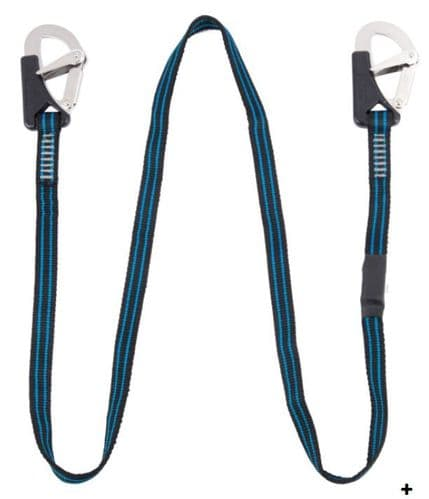 Seago Yachting New ISO Double Hook Safety Harness Line