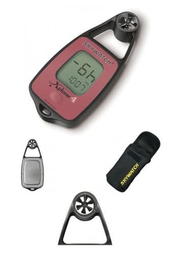 Skywatch Xplorer 4 Wind Speed/Temp/Compass/Altimeter (17519) Instrument