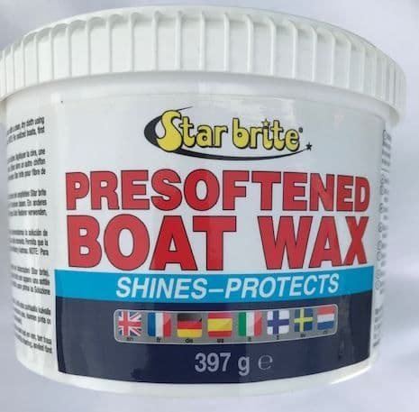 Starbrite Pre Softened Boat Wax 397g GRP or Painted Surfaces