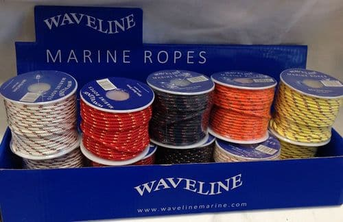 Waveline Rope Twine Reel  3mm x 20m  Assorted Colours