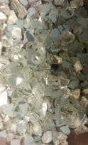 Clear Chippings 1-2mm with Silver Mirror Granules