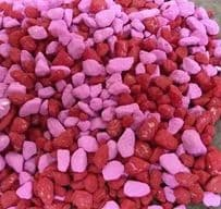 Red & Pink Mix 5-7mm