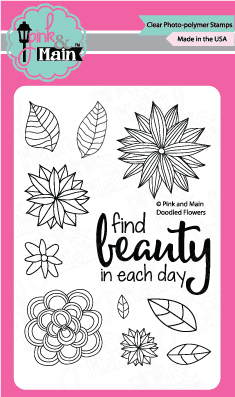Doodled Flowers - Stamp Set