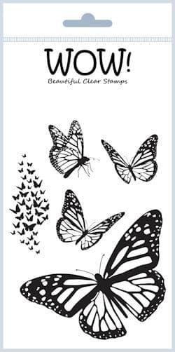 Mariposa (by Maya Isaksson) - Clear Stamp Set (A6)
