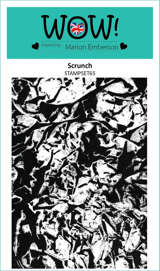 Scrunch (by Marion Emberson) - Clear Stamp Set (A6)