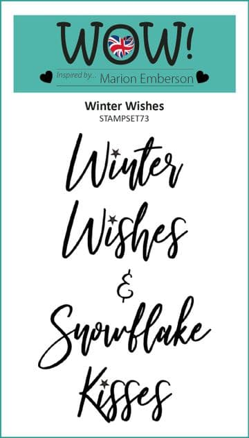Winter Wishes (by Marion Emberson) - Clear Stamp Set (A7)