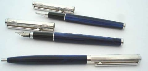 Cambridge Sterling Silver and Acrylic Pen Set