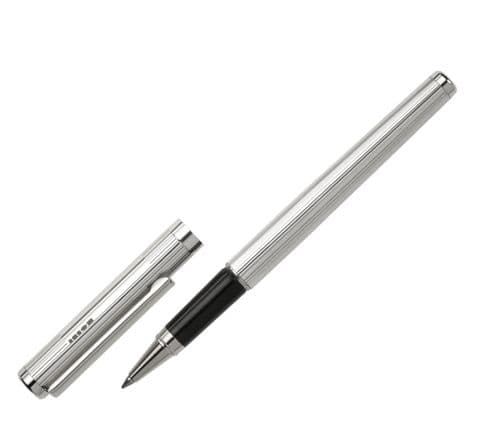 Sterling Silver Rollerball Pen - Cambridge - Fine Line Sterling Silver