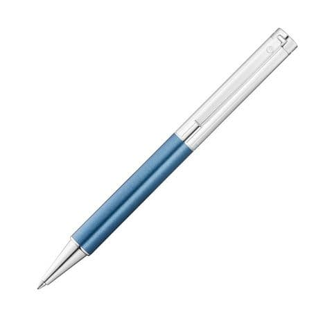 Waldmann Cosmo Ballpoint Pen with Metallic Blue Finish