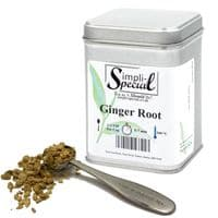 Dried Ginger Root Loose Leaf Tea in Assorted Packs