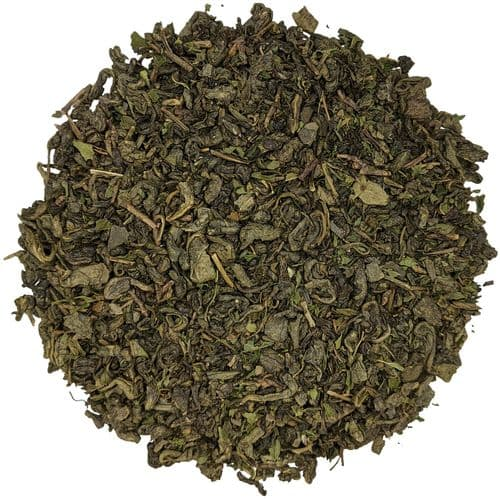 Green Menthos Luxury Mint and Green Loose Leaf Tea in Assorted Packs