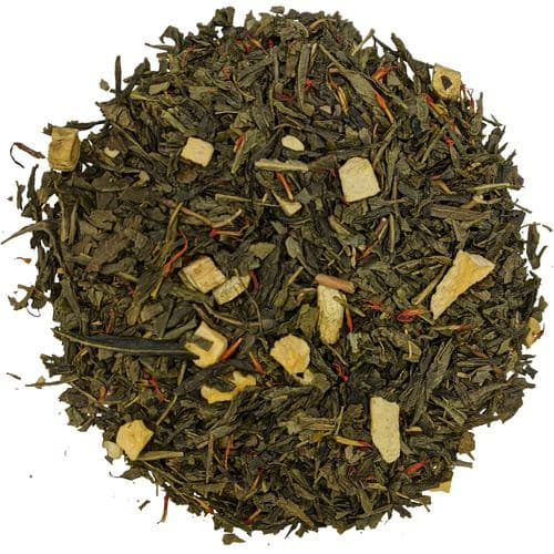 Red Ginseng Sencha Luxury Green Loose Leaf Tea in Assorted Packs