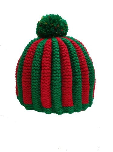 Tea Cosy Red & Green Retro for 4 to 6 Cup (1ltr) Pot. (4)