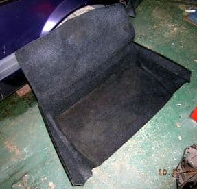 Fiat X19 Front Boot Carpet / Liner