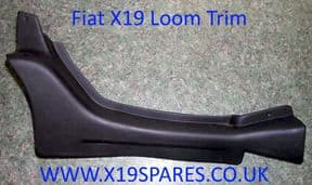 Front Boot Wiring Loom Cover / Trim