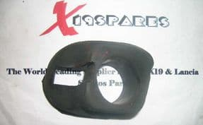 Front bumper iron rubber seal.
