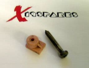 Front Grill Clips with screw  Pink used