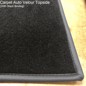 Over Mat Set Made to Order in Auto Velour for Fiat X1/9