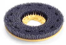 450mm Floortec Heavy Duty Scrubbing/Stripping Brush (Black)