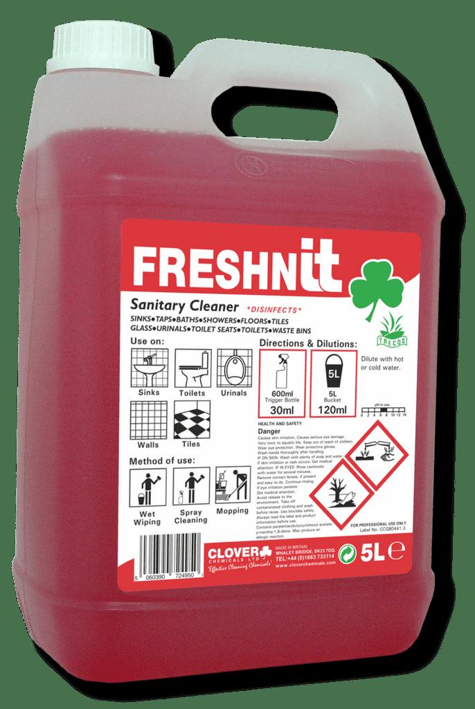 Clover Freshnit 5L - Toilet & Bathroom Cleaner