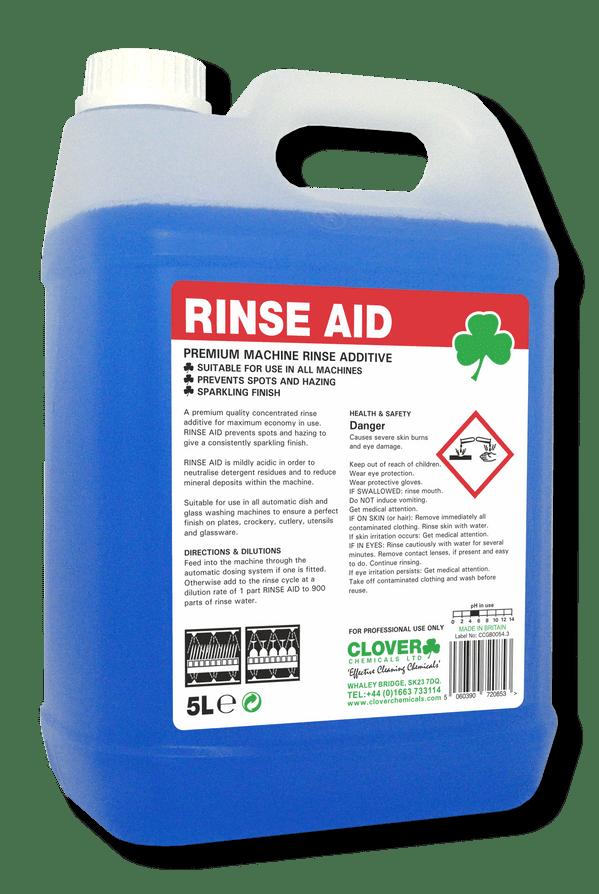 Clover Rinse Aid - Premium Rinse Aid Additive