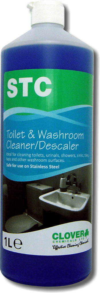 Clover STC Acidic Toilet  and Washroom Cleaner 1L - 5L