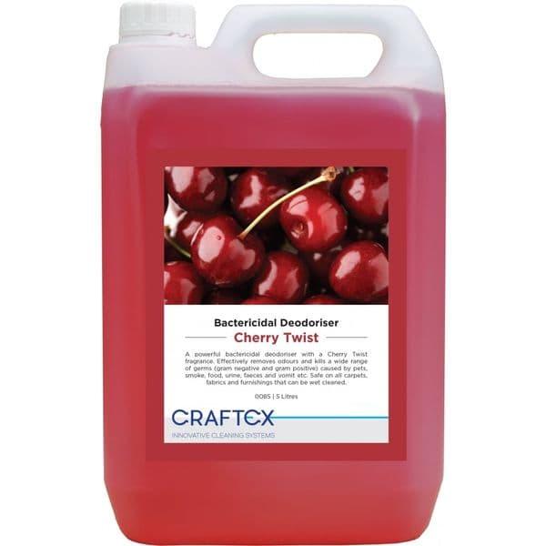 Craftex Bactericidal Deodoriser - Cherry Twist 5L