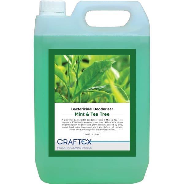 Craftex Bactericidal Deodoriser - Mint & Tea Tree 5L