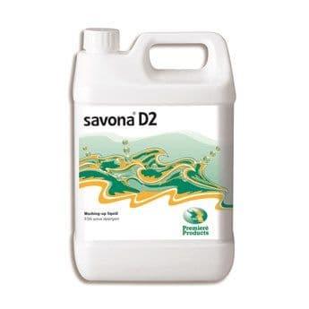 Premiere Savona D2 washing up liquid 5ltr