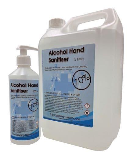 Alcohol Hand Sanitiser 70%