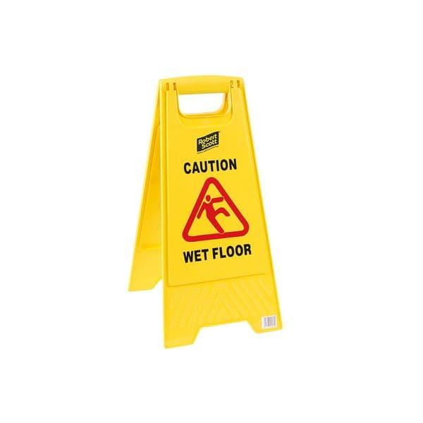Caution Wet Floor/Clean In Progress Standard Sign