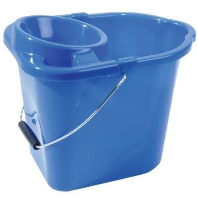 Mop Bucket Plastic Blue 2 Gallons